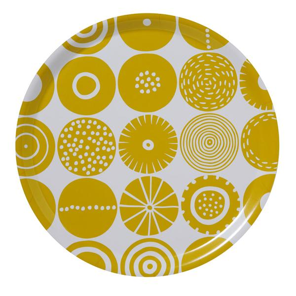 Candy Yellow Ø38cm Round Tray