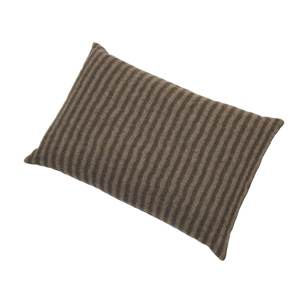 Underscore Dark Coffee/Beige Cushion Cover 40 x 60cm - Northlight Homestore