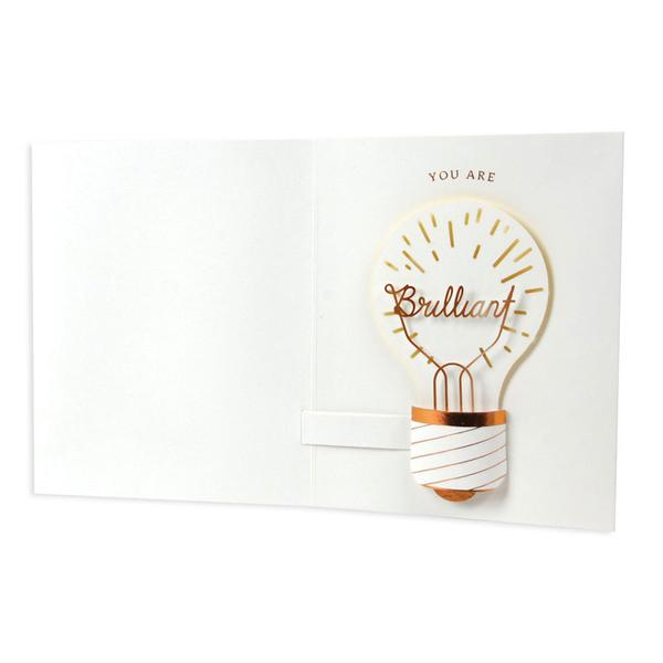 Lightbulb Card