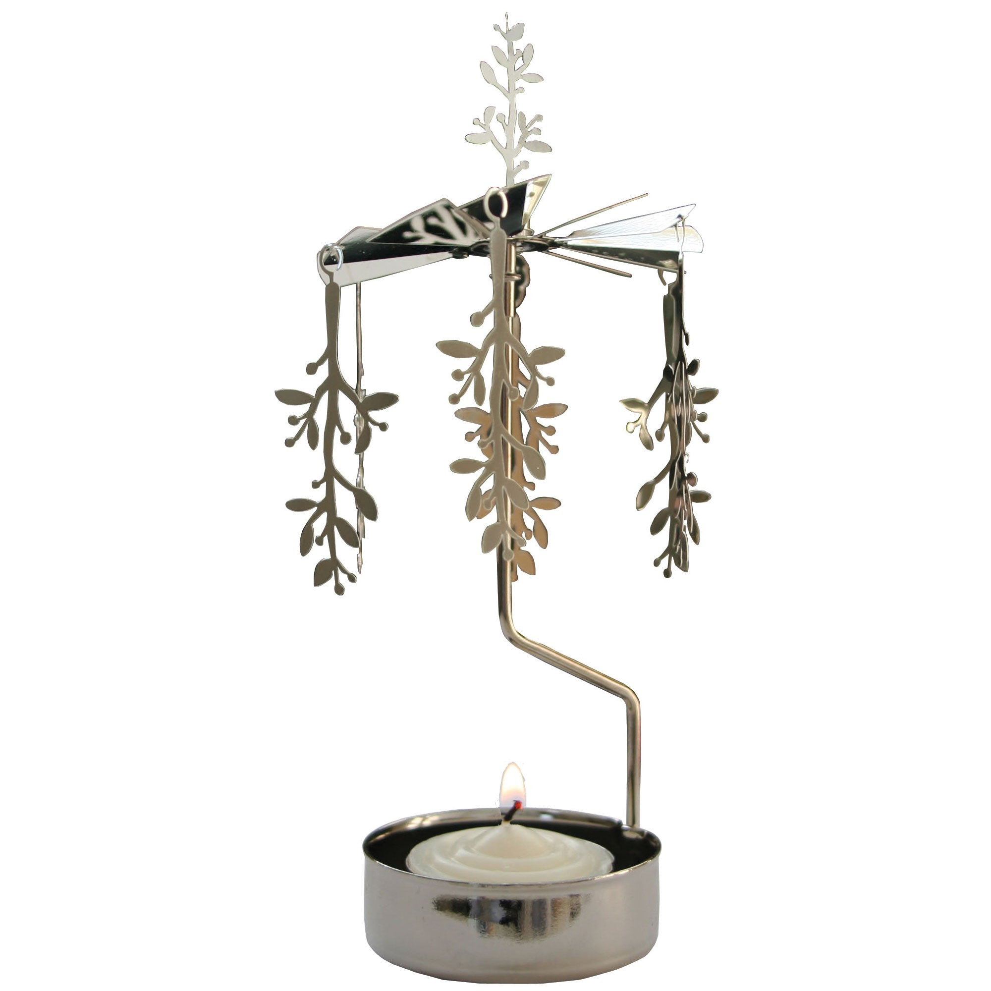 Leaf Rotary Candle Holder - Northlight Homestore