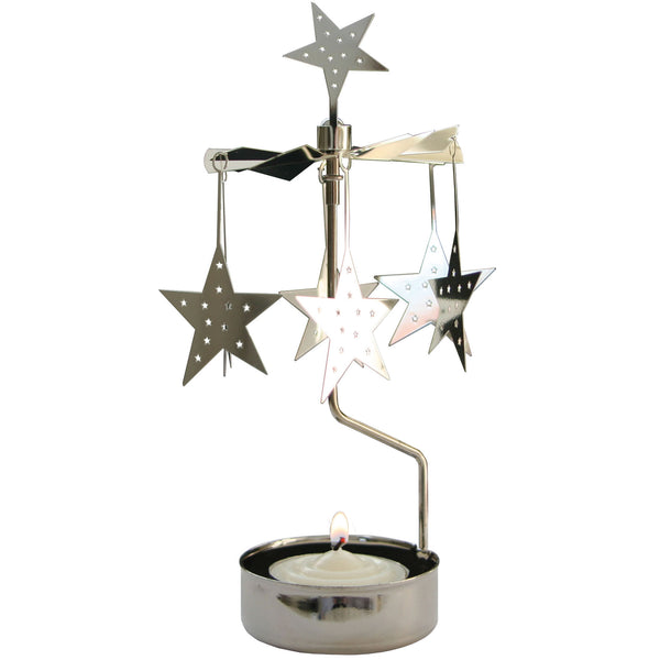 Star Rotary Candle Holder
