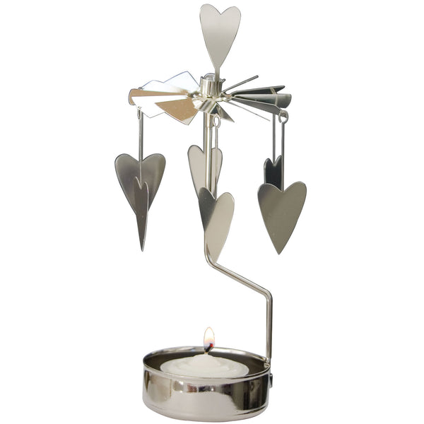 Heart Rotary Candle Holder