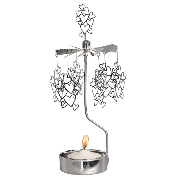 Small Hearts Rotary Candle Holder - Northlight Homestore