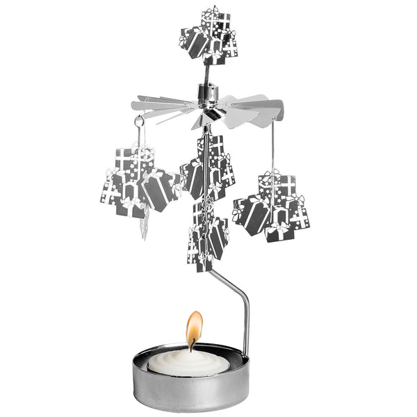 Xmas Gifts Rotary Candle Holder - Northlight Homestore
