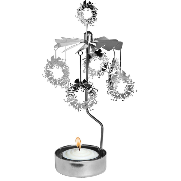 Wreath Rotary Candle Holder - Northlight Homestore