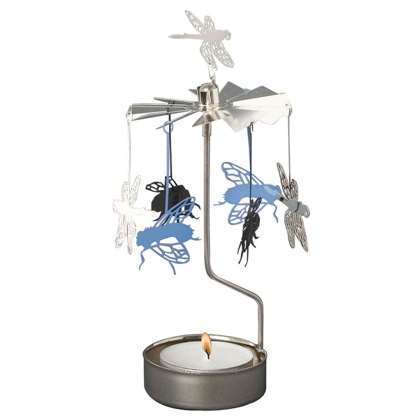 Insects Rotary Candle Holder - Northlight Homestore