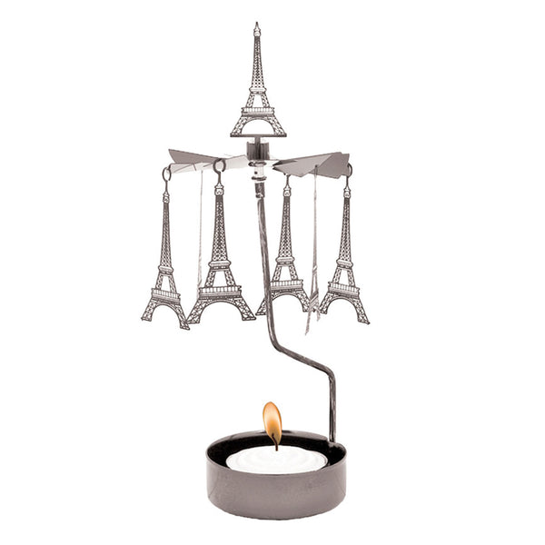 Eiffel Tower Rotary Candle Holder - Northlight Homestore