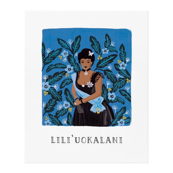 Lili Uokalani 8x10 Art Print - Northlight Homestore