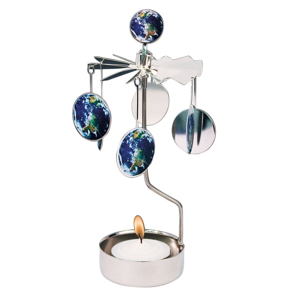 Earth Rotary Candle Holder