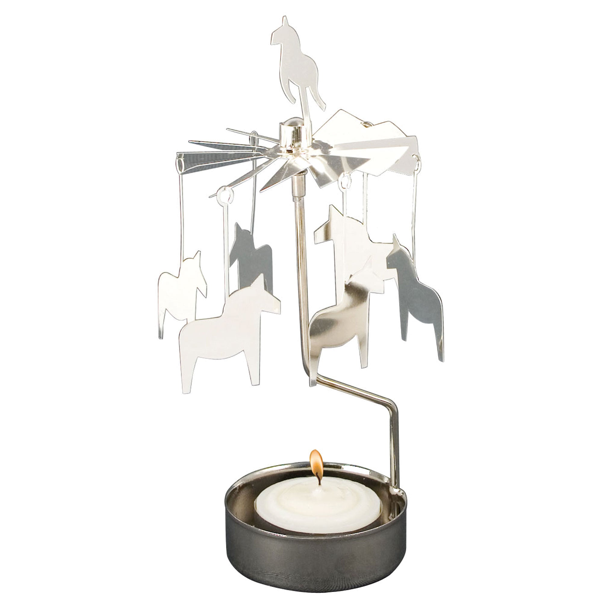 Horse Rotary Candle Holder