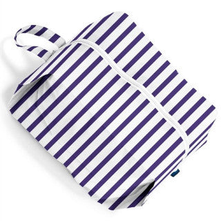 Sailor Stripe 3D Zip Large Bag