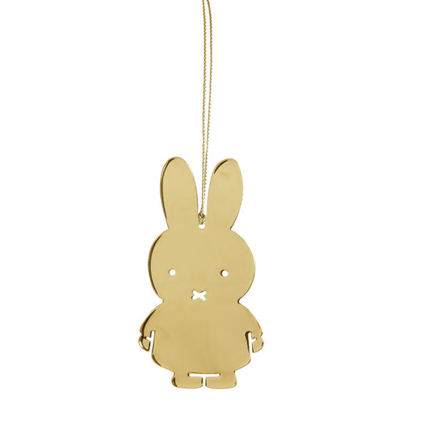 Miffy Gold Decoration - Northlight Homestore