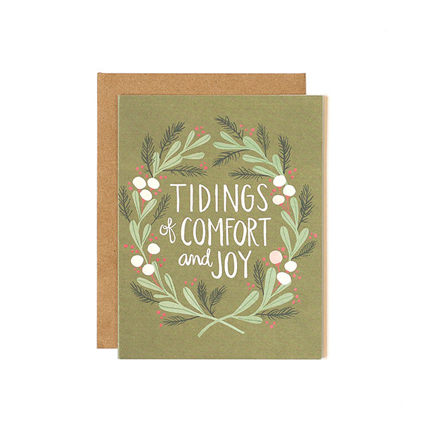 Tidings of Comfort Card