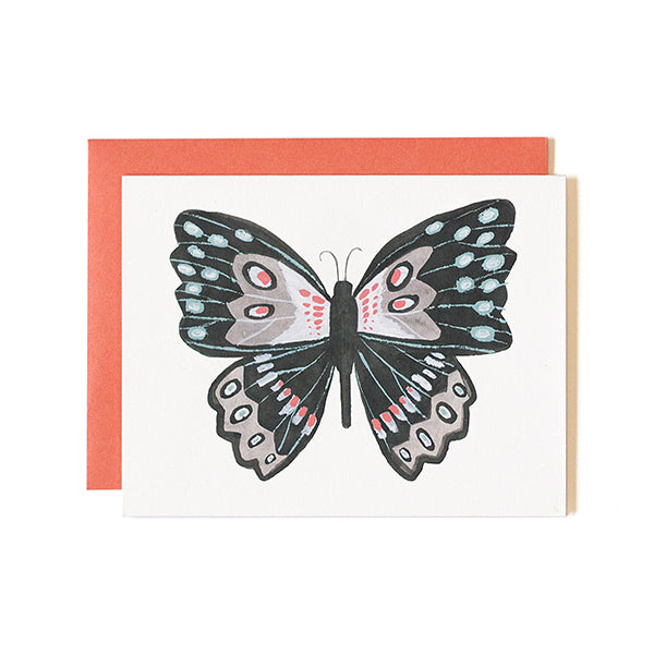 Specimen A Butterfly Card