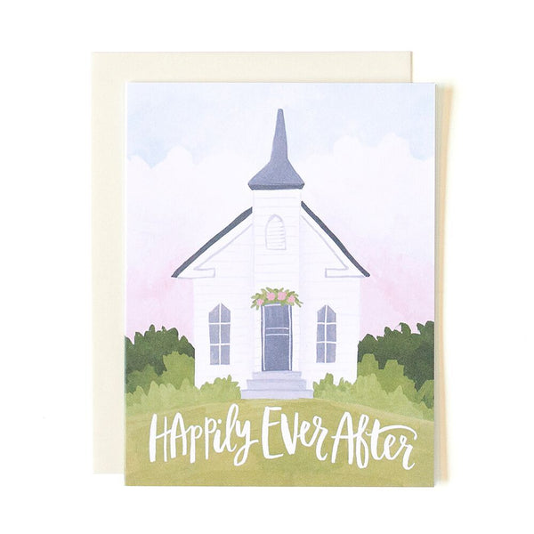 Wedding Chapel Card - Northlight Homestore
