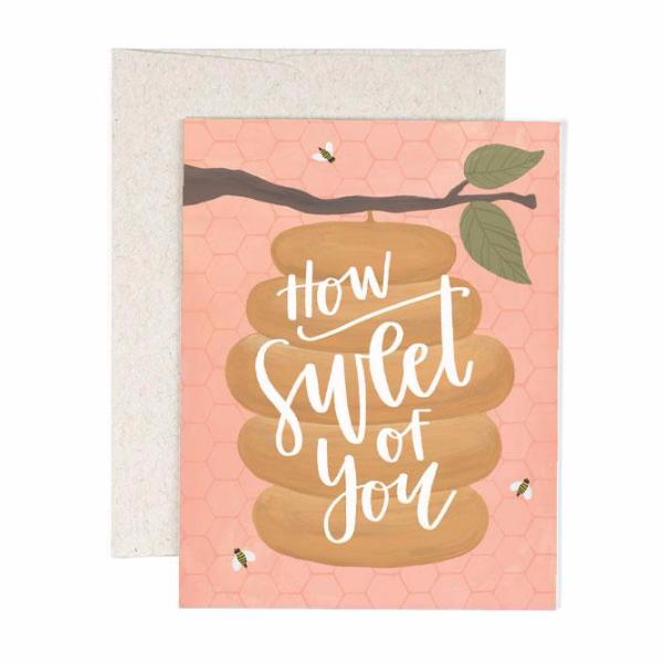 How Sweet Beehive Card - Northlight Homestore
