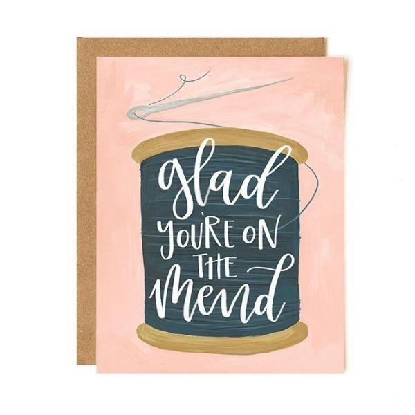 On The Mend Card - Northlight Homestore