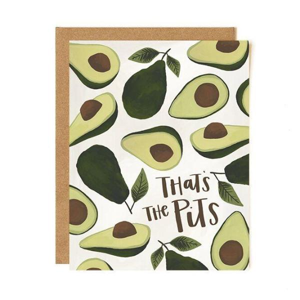 Avocado Pits Card - Northlight Homestore