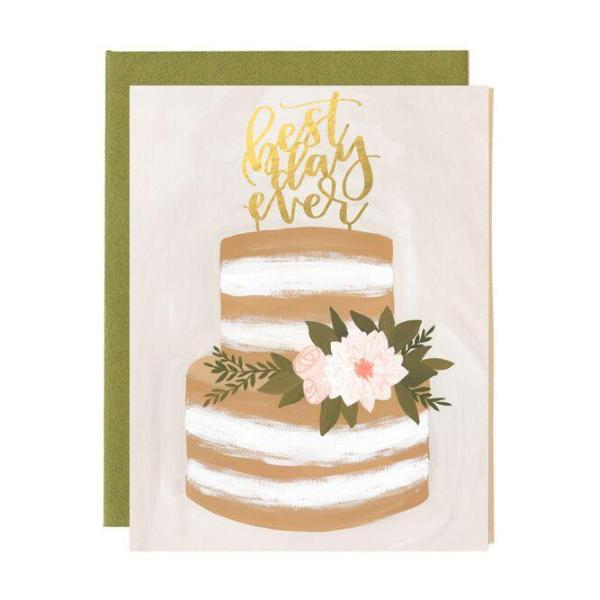 Wedding Best Day Ever Card - Northlight Homestore