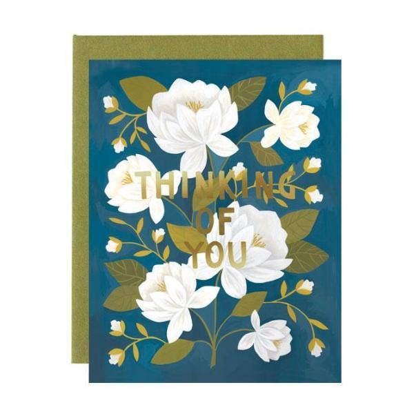 Raleigh Floral Friendship Card - Northlight Homestore