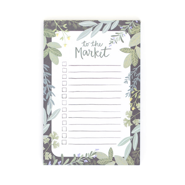 To The Market Notepad - Northlight Homestore