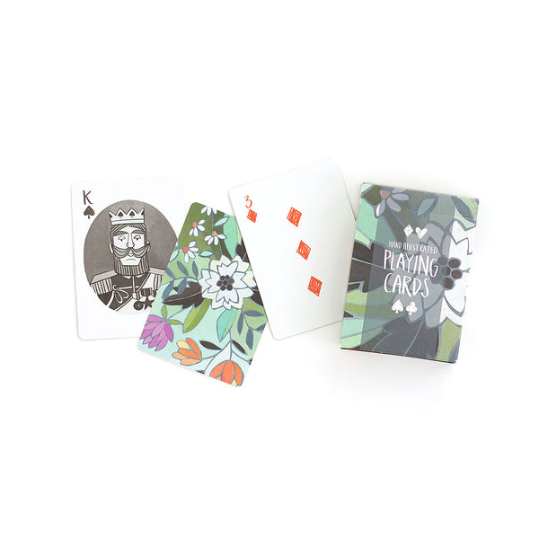 Floral Playing Cards - Northlight Homestore