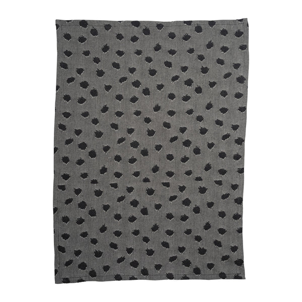 Wild Things Black Tea Towel - Northlight Homestore