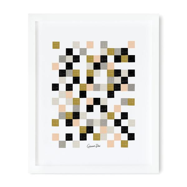 Checkered 40x51cm Art Print