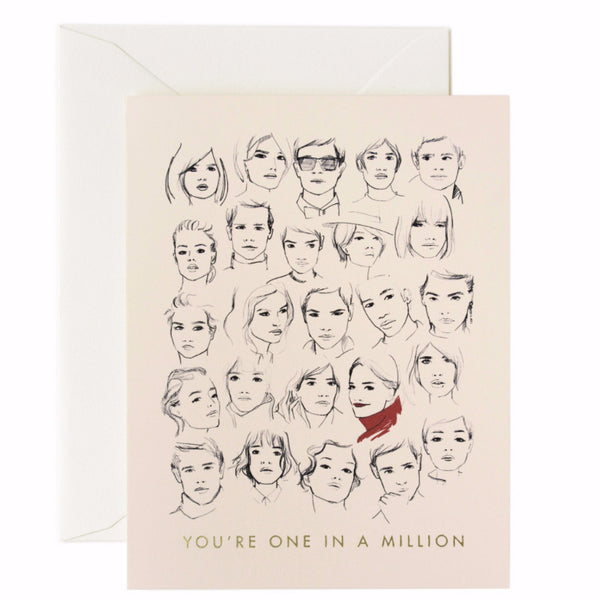 You're One in a Million Card - Northlight Homestore