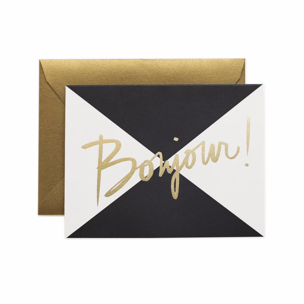 Bonjour Card - Boxed Set 8 - Northlight Homestore