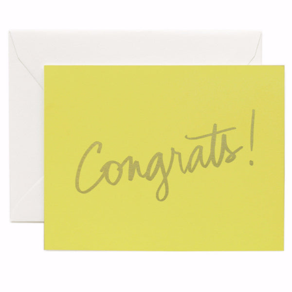 Congrats! Card - Northlight Homestore