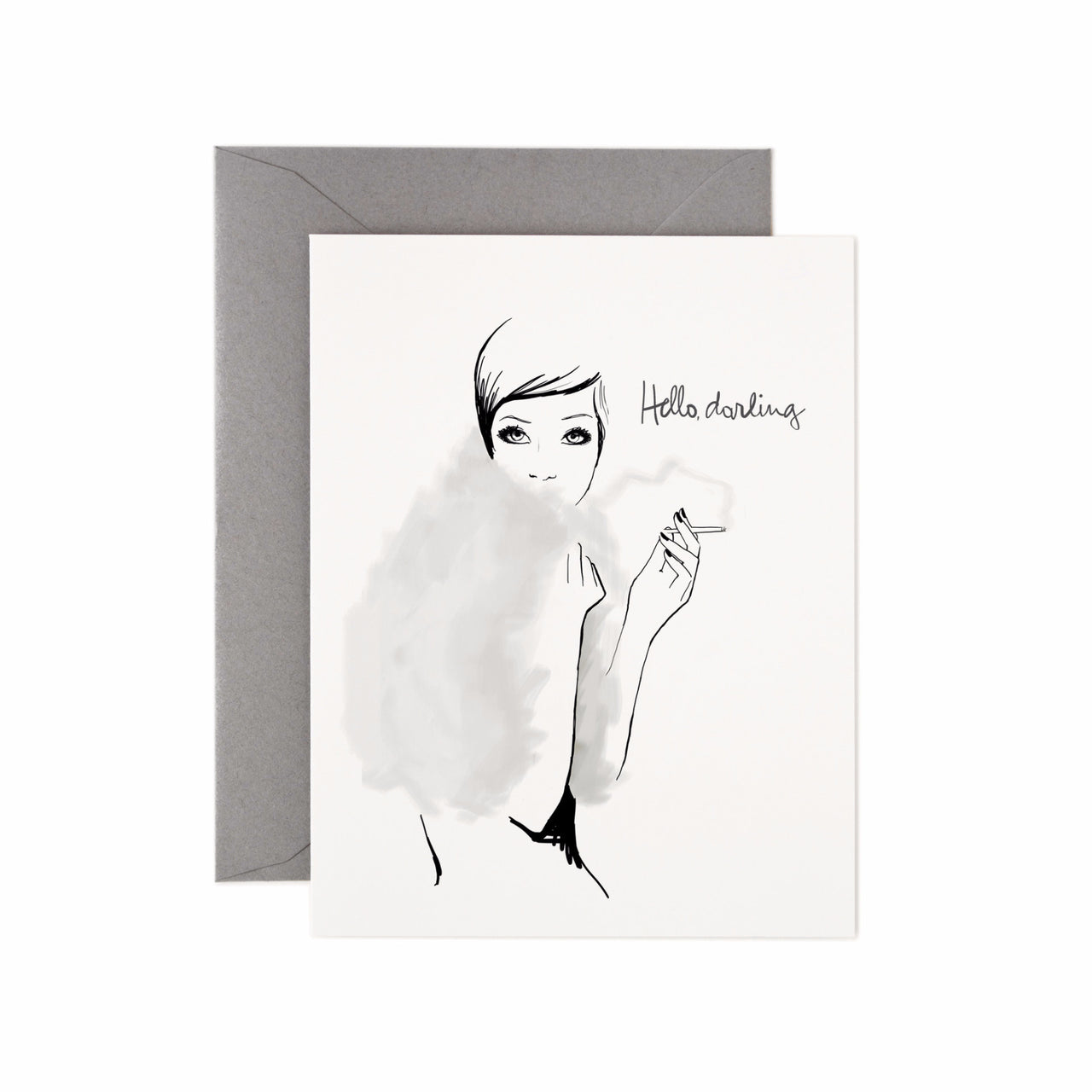 Hello, Darling Card - Northlight Homestore