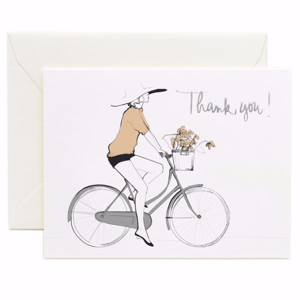 Bicycle Thank You Card Boxed Set - 8 Cards - Northlight Homestore