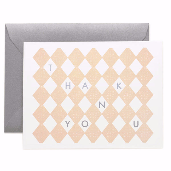 Thank You Blush Card