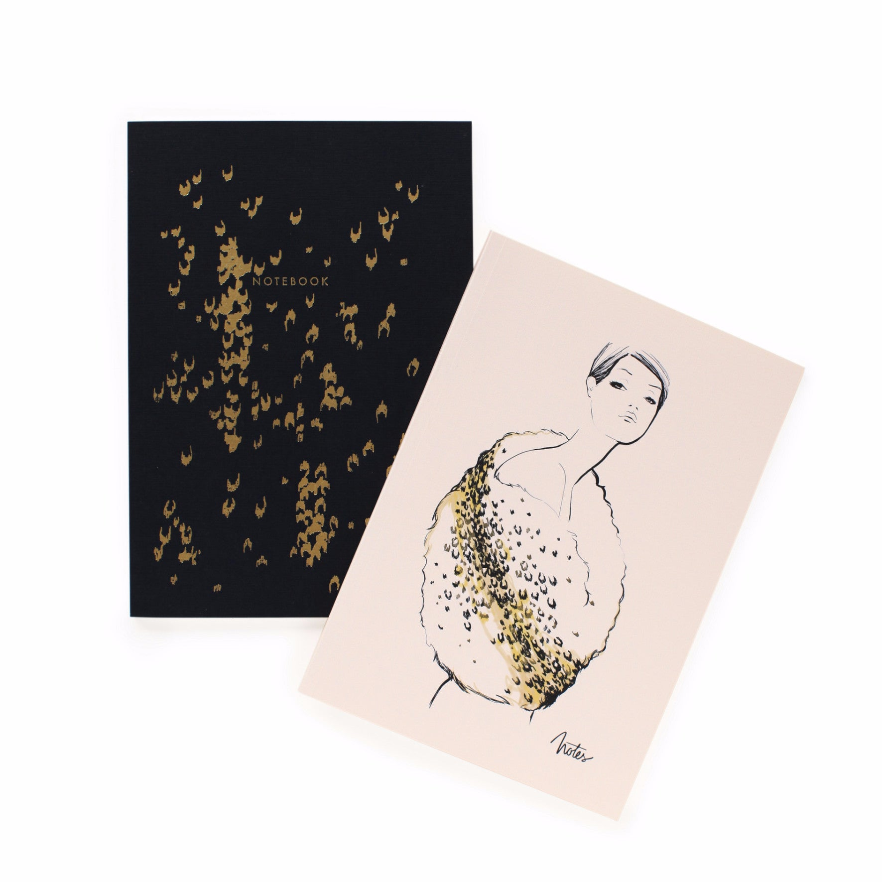 Leopard Pattern Notebook Set - Northlight Homestore