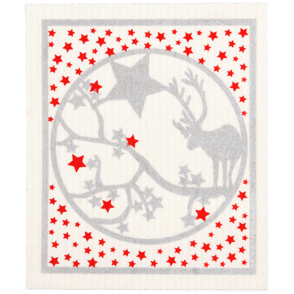 Deer Star Dishcloth