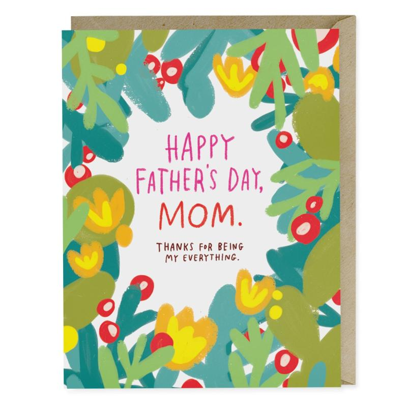 Father's Day Mom Card