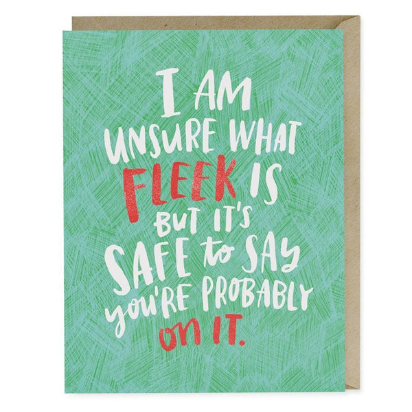 Fleek Love Card - Northlight Homestore