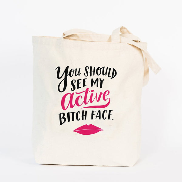 Bitch Face Tote Bag - Northlight Homestore