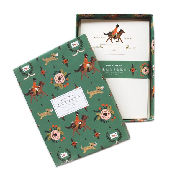 Pony Express Social Stationery - Northlight Homestore