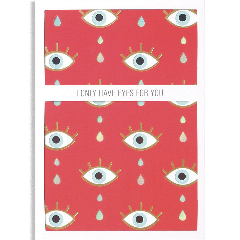 Eyes For You Layers Greeting Card