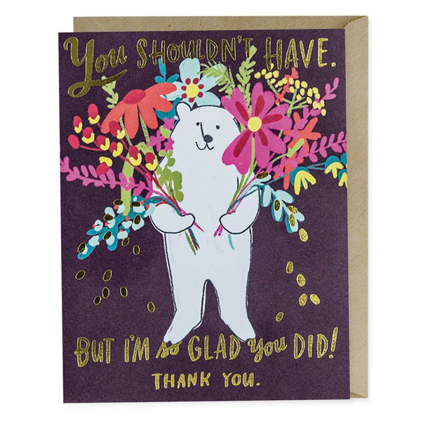 Glad You Did Thank You Card - Northlight Homestore