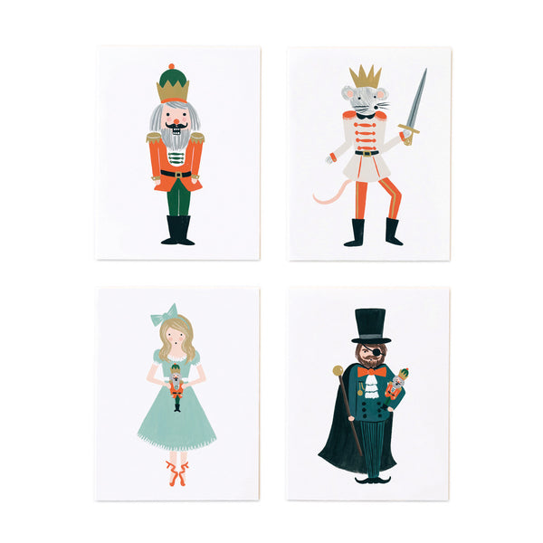 Assorted Nutcracker Set - 8 cards - Northlight Homestore