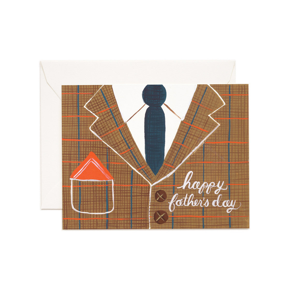 Tweed Father's Day Card - Northlight Homestore
