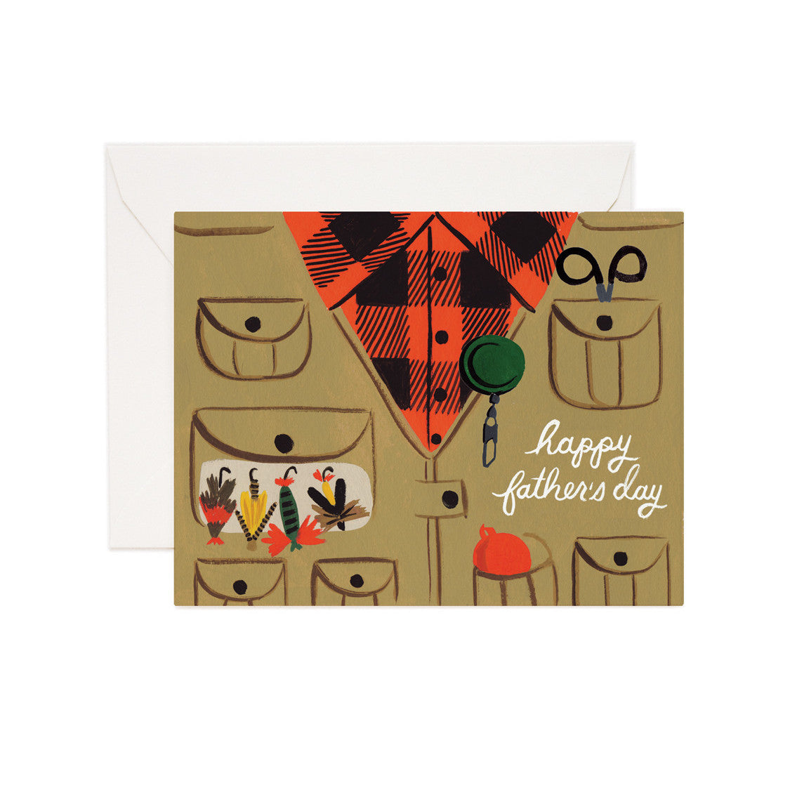 Father's Day Fly Fishing Card - Northlight Homestore