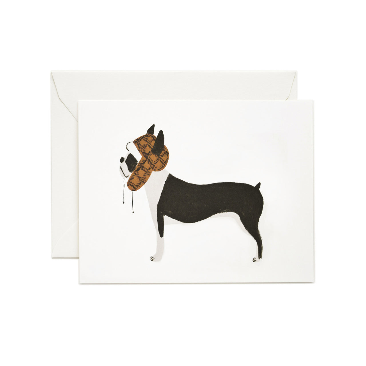Boston Terrier Card - Northlight Homestore