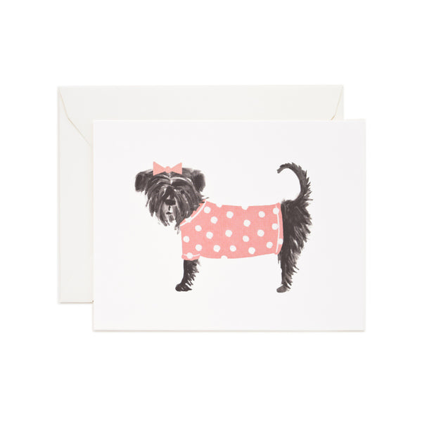 Affenpinscher Rifle Paper Co Card