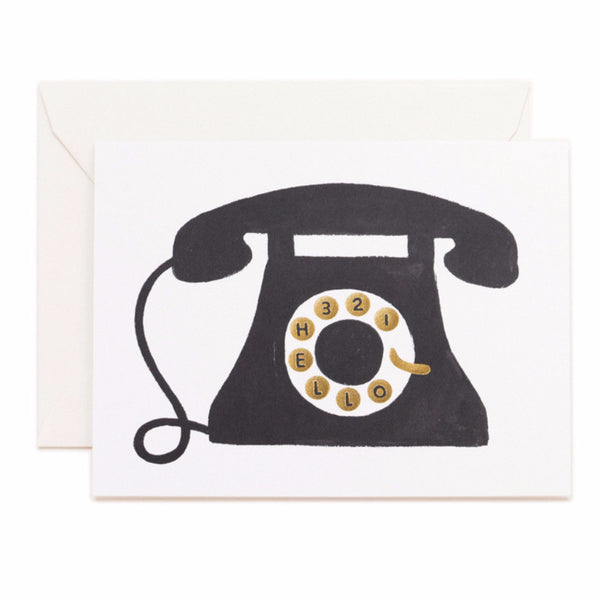 'Hello' Telephone Card