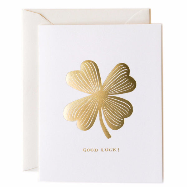 Good Luck Clover Card - Northlight Homestore