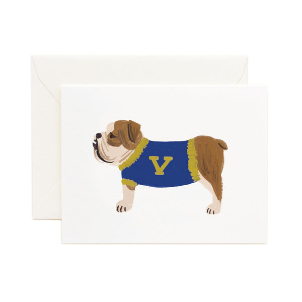 Bulldog Card Boxed Set - 8 Cards